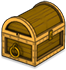 Gold Star Treasure Chest