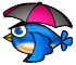 The Rain Blue Bird